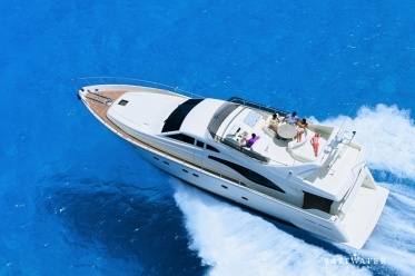 Meli Ferretti 680 Motor Yacht for sale in Greece and Mediterranean. Saltwater Yachts