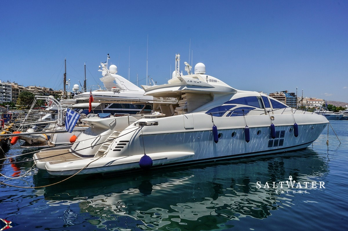 Azimut 86 S Motor Yachts For Sale Saltwater Yachts
