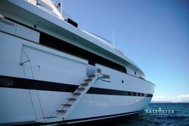 Motor Yacht Project Steel for crewed charter in Greece