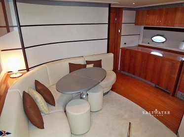 Pershing 62 used motor yacht for sale in Greece. Saltwater Yachts