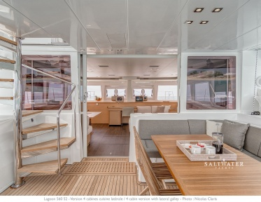 Lagoon 560 S2 Catamran for Charter in Greece - Saltwater Yachts