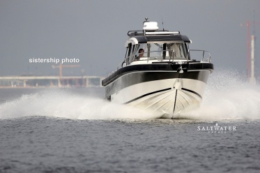 Arctic Commuter 25 Inboard. Motor boat for sale. Saltwater Yachts